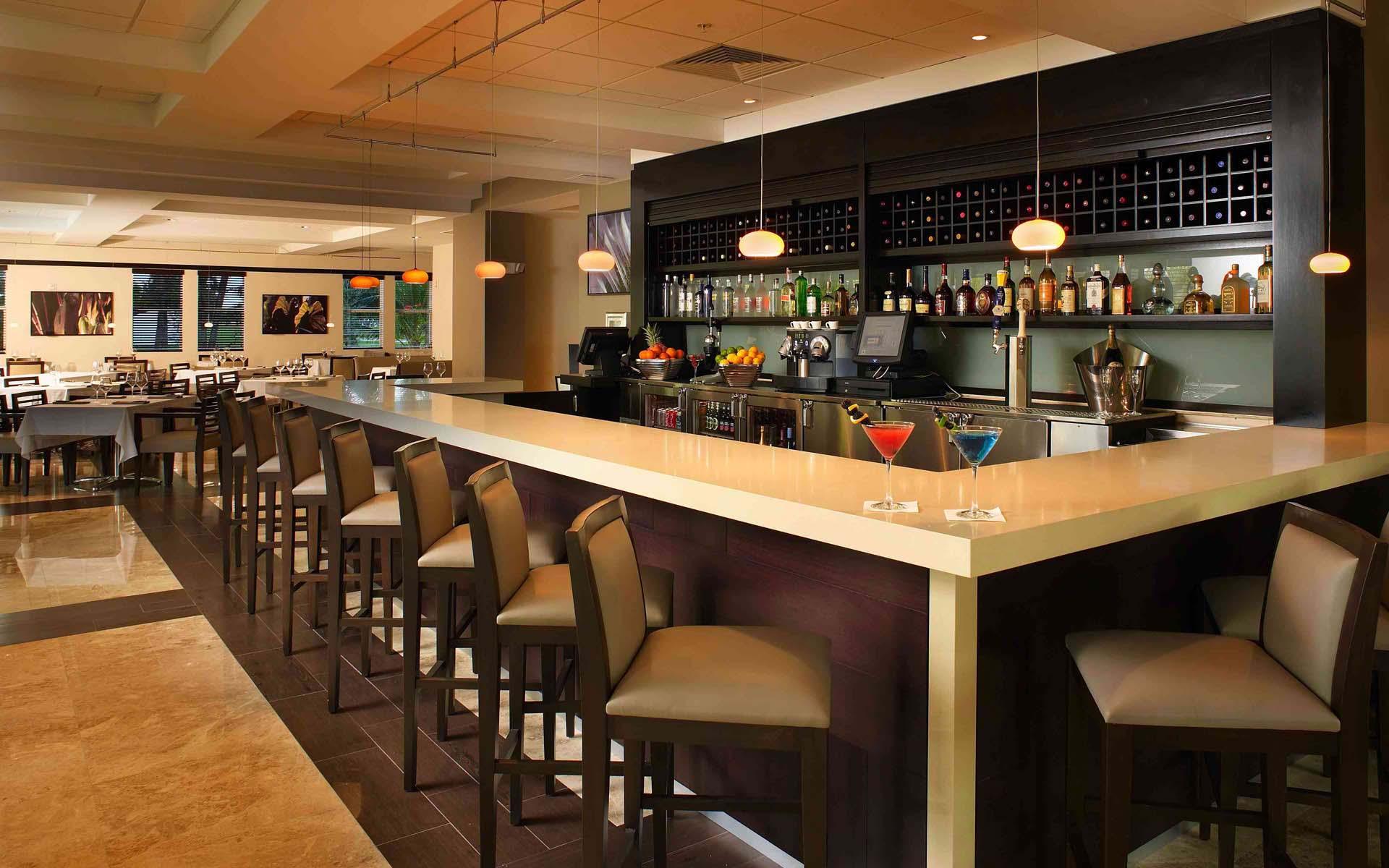 Дизайн барных стоек в кафе баре